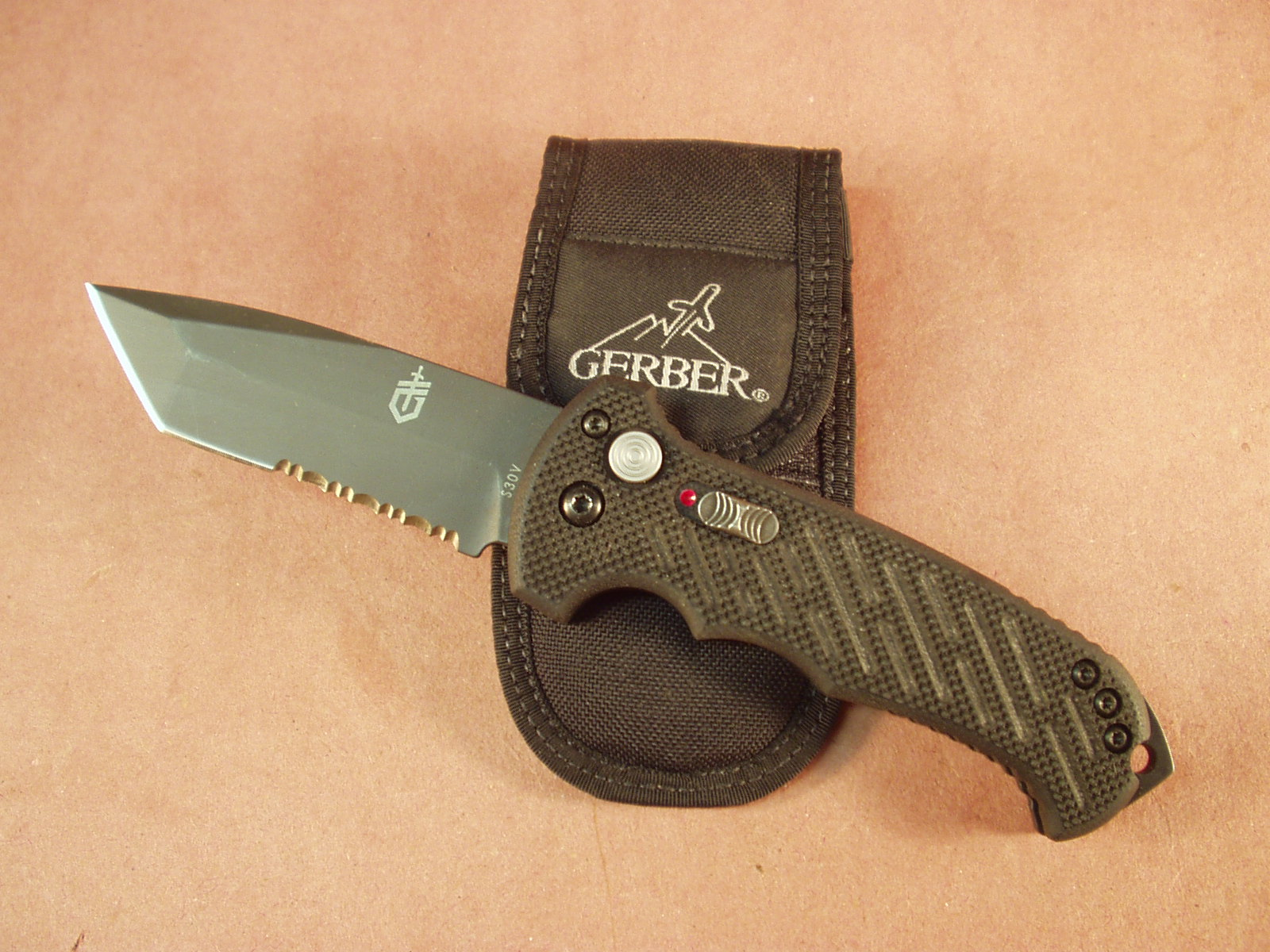 High Adventure Outfitters Gerber 06 Auto Tanto Tip